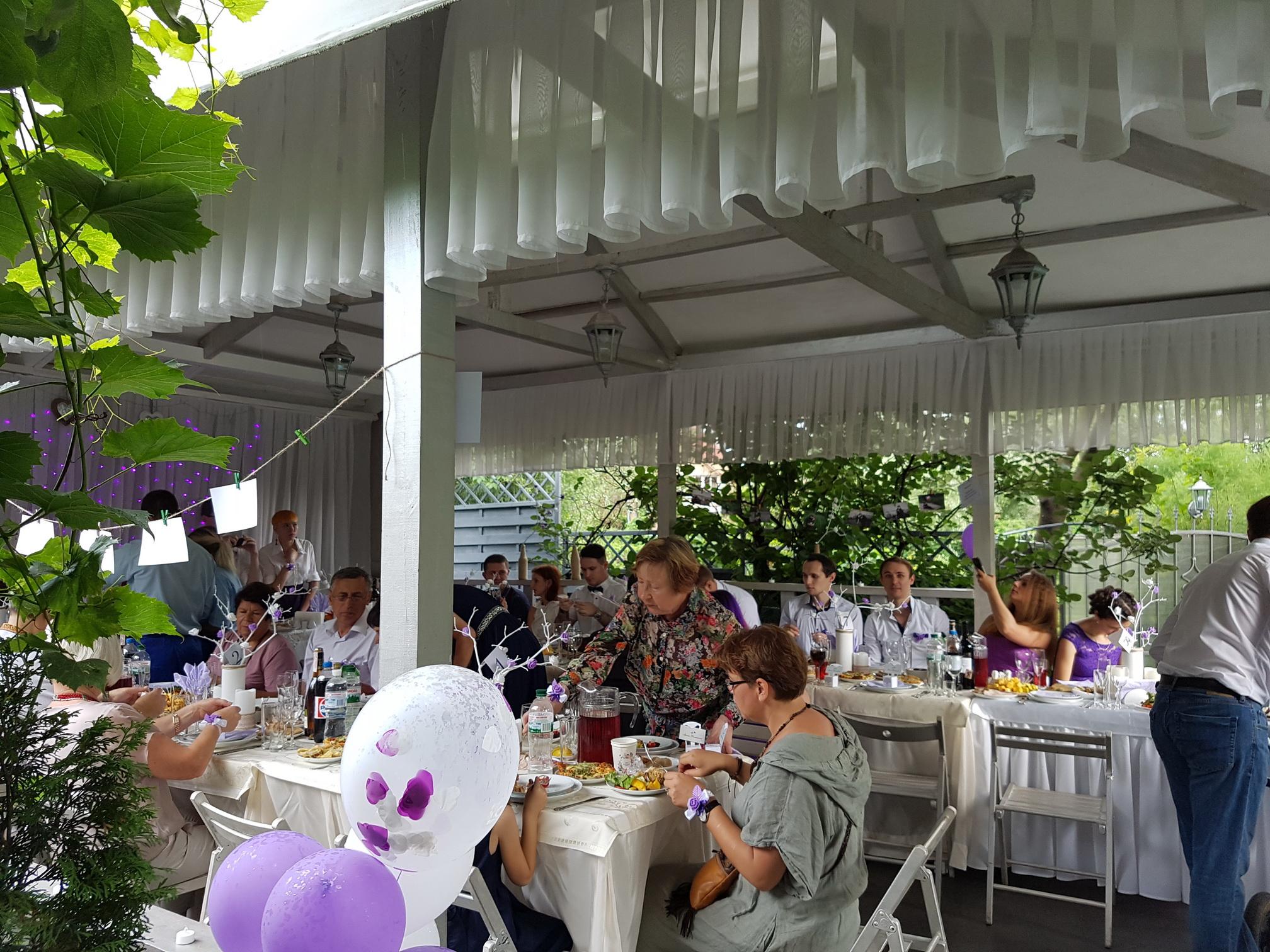 организация свадебных банкетов фото