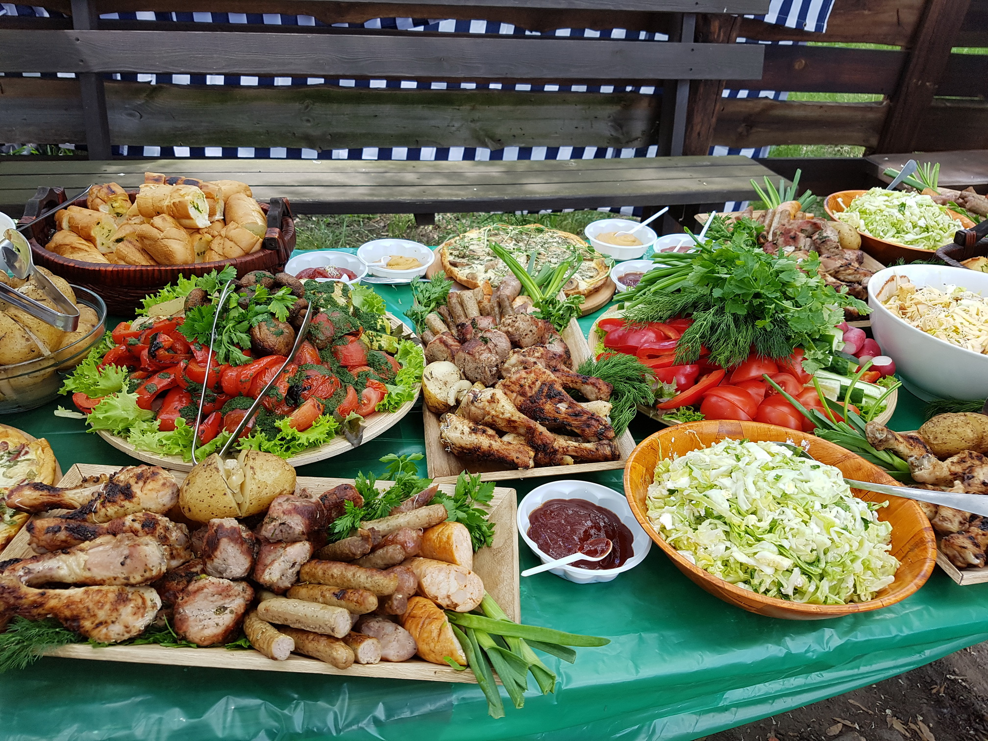 блюда для летней вечеринки